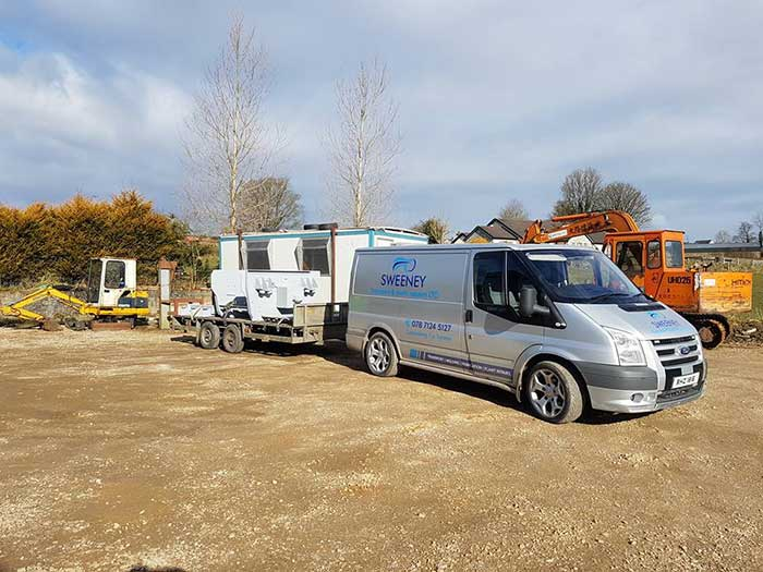 Sweeney Transport services